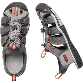Keen M's Clearwater CNX Sandals Grey Flannel/Potters Clay